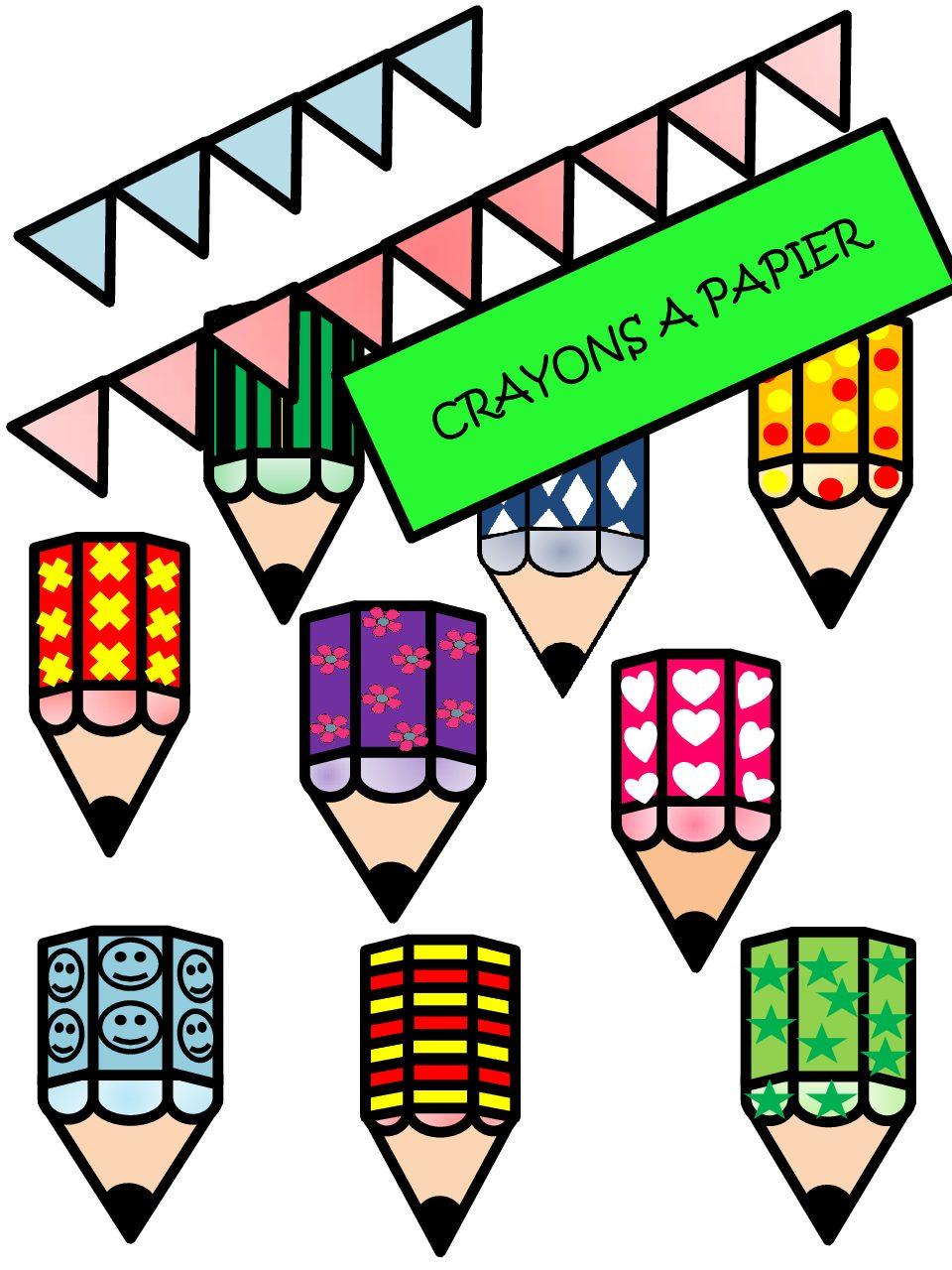 CreaKit Crayons à papier