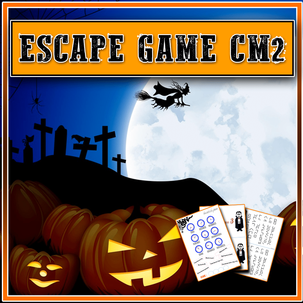 Escape Game CM2 pour Halloween