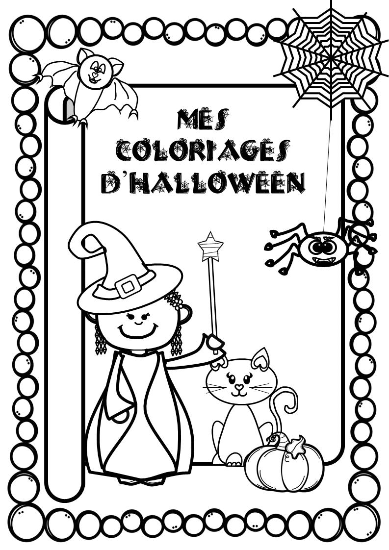 Coloriage Cp Autonomie.Mes Coloriages D Halloween Autonomie Cp Maternelle La Salle Des