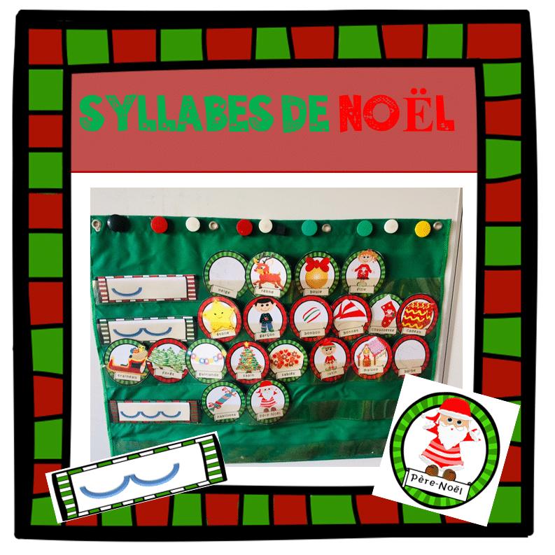 Les SYLLABES de NOEL