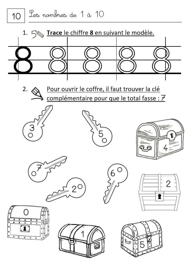 Fichiers de révision mathématiques pour CP