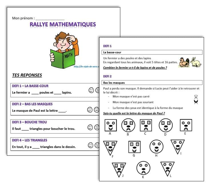 40 défis en mathématiques