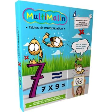 Multimalin : le coffret complet des tables de multiplication