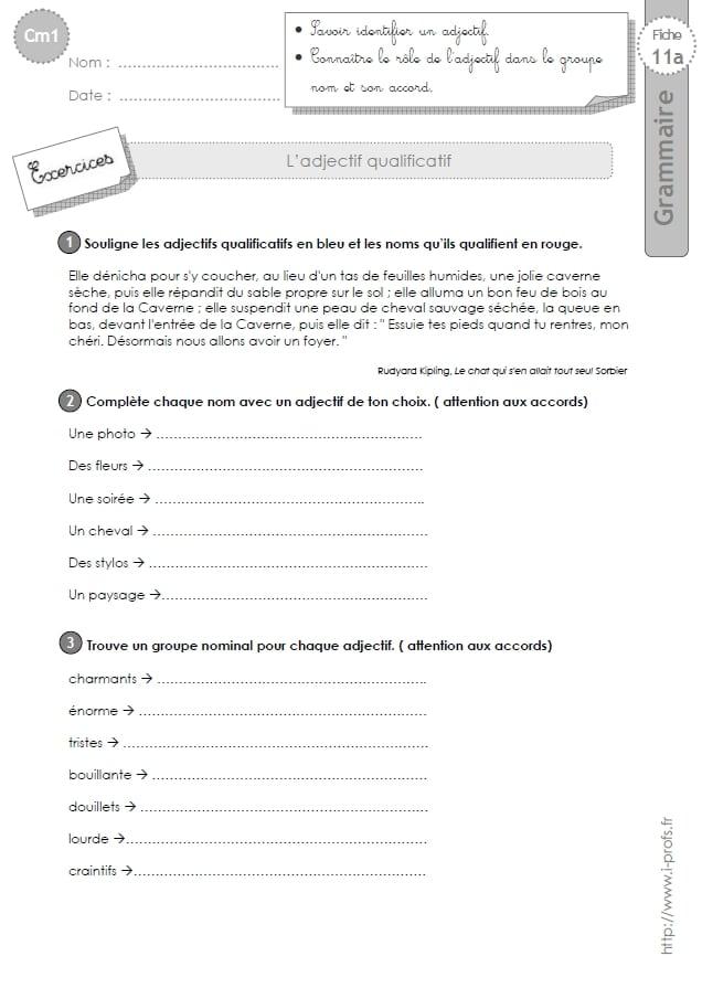 Pack Grammaire au CM1 - Etude de la Langue CM1 - La Salle des Maitres