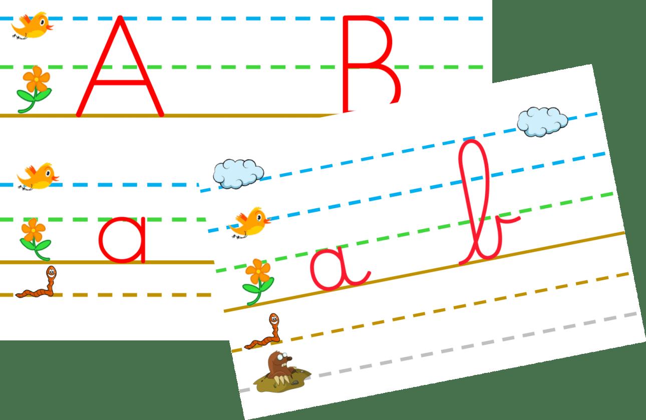 Affichage Mural De L Alphabet