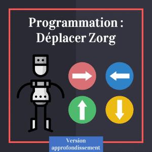 Programmation maternelle et primaire : déplacer Zorg