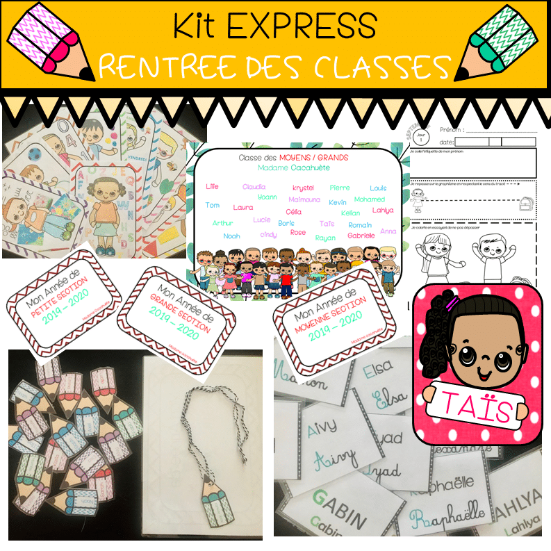 Kit EXPRESS Rentrée des Classes