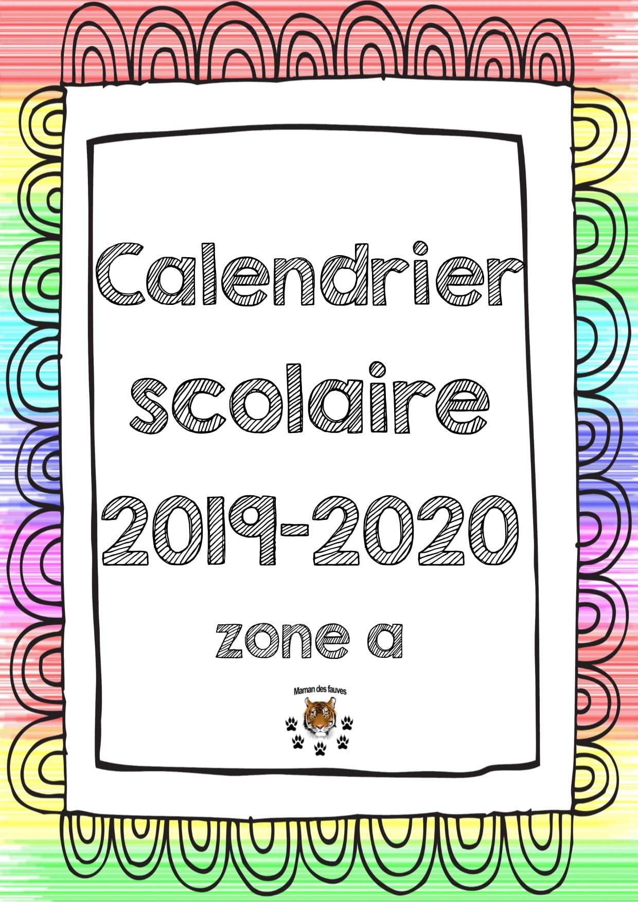 Calendrier Scolaire Zone A B Et C Pour Les Enseignants