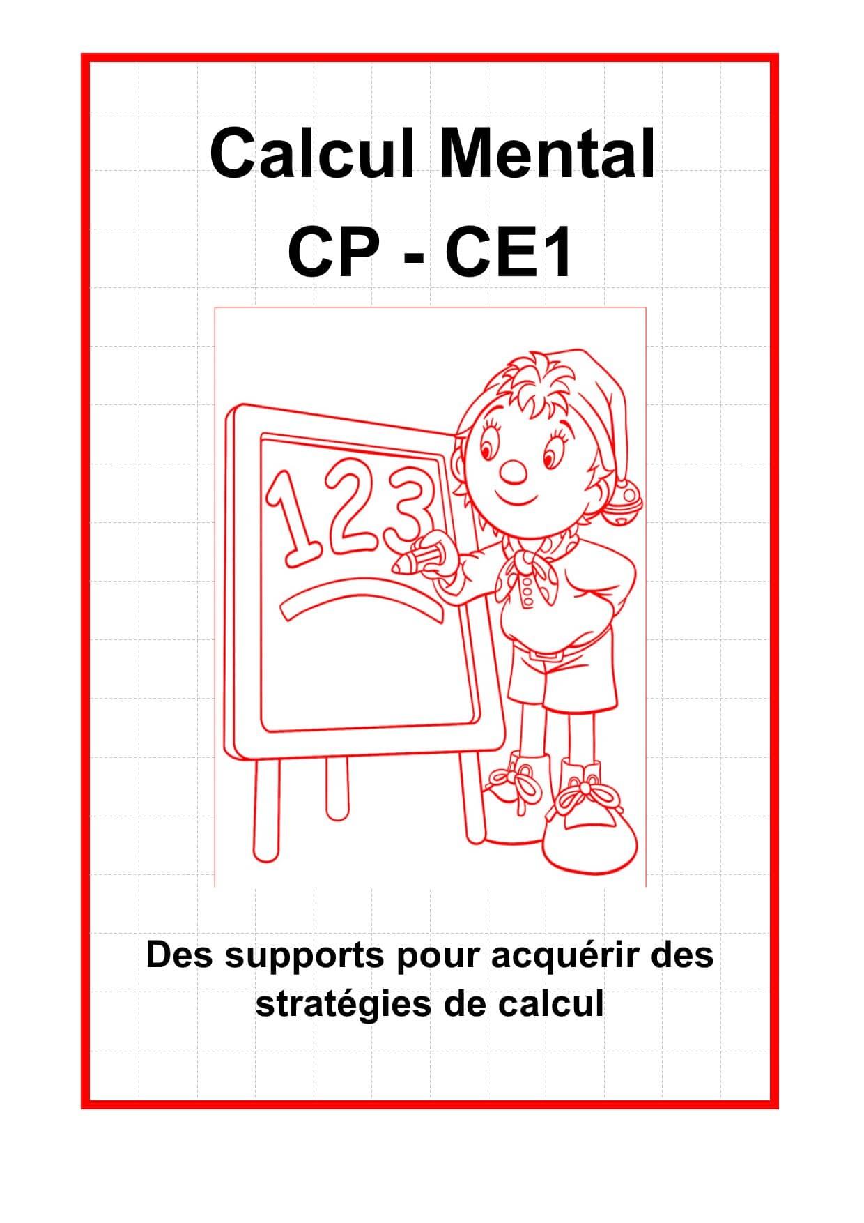Calcul mental CP - CE1 - Mathématiques CE1, CP - La Salle des Maitres