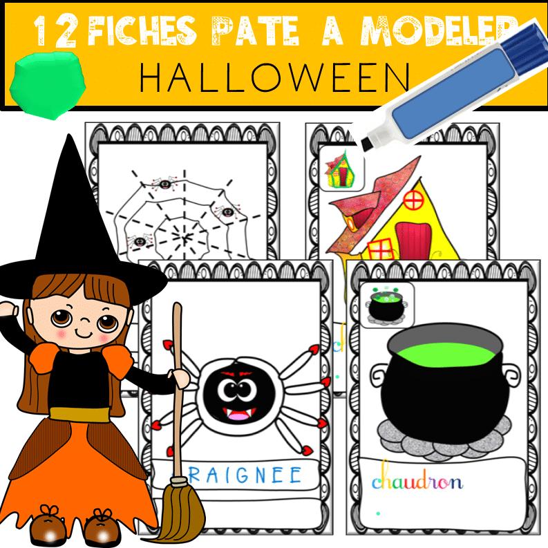 Fichier Pâte à modeler Halloween
