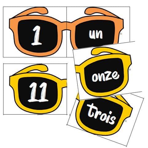 Ecrire des nombres en lettres : puzzle