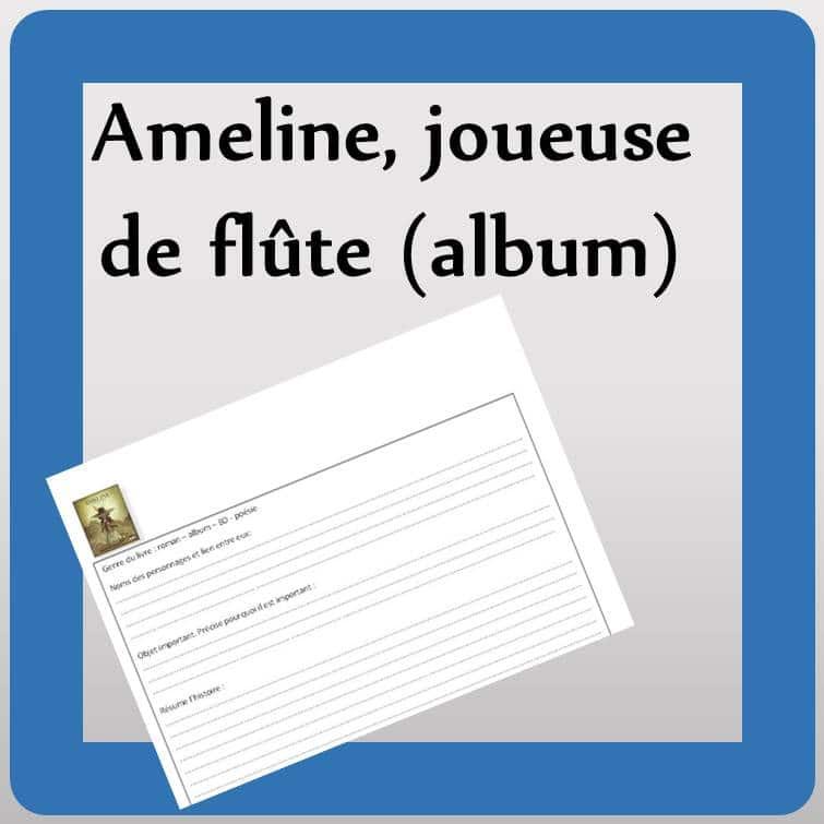 lecture: Ameline joueuse de flûte