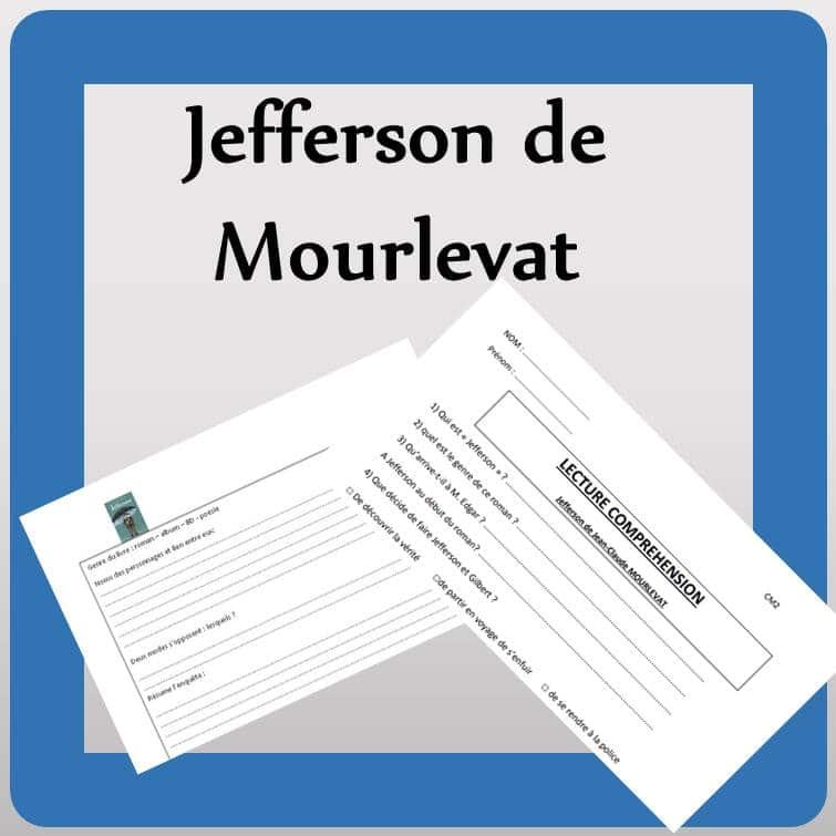 Lecture : Jefferson de J. Claude MOURLEVAT