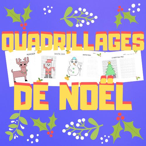 Quadrillages de Noël (Dessin et géométrie)