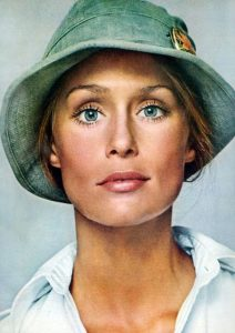 Cappello Cloche, Lauren Hutton