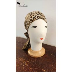 Turbante leopardato, stile pirata