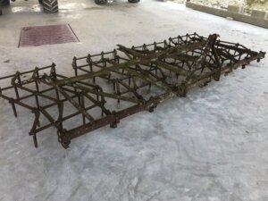 Herse plate 4 m repliage manuel