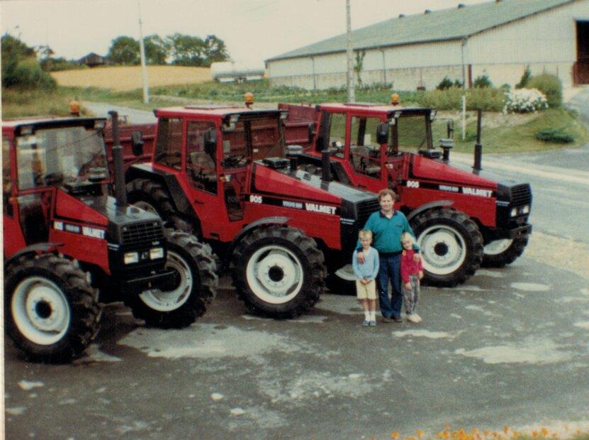 Mortier_1988 - Serge et ses enfants