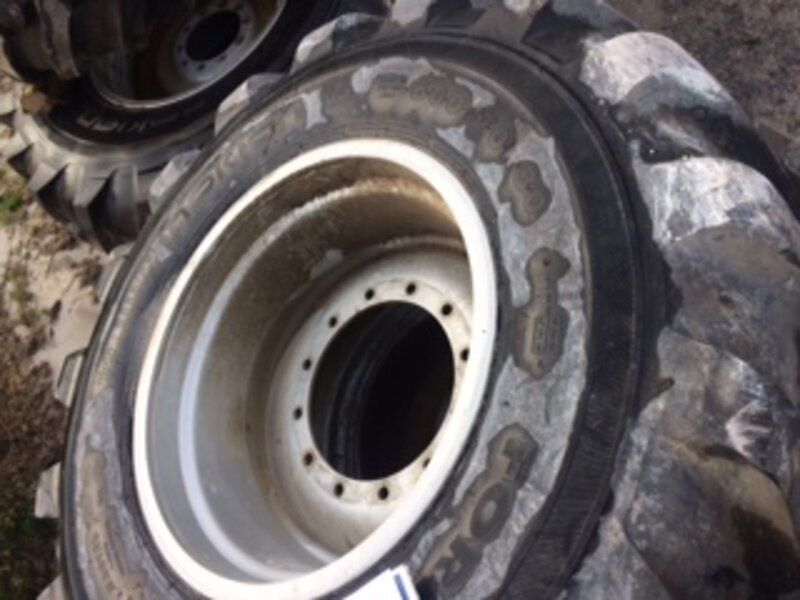 Roues Nokian forestier Valtra S