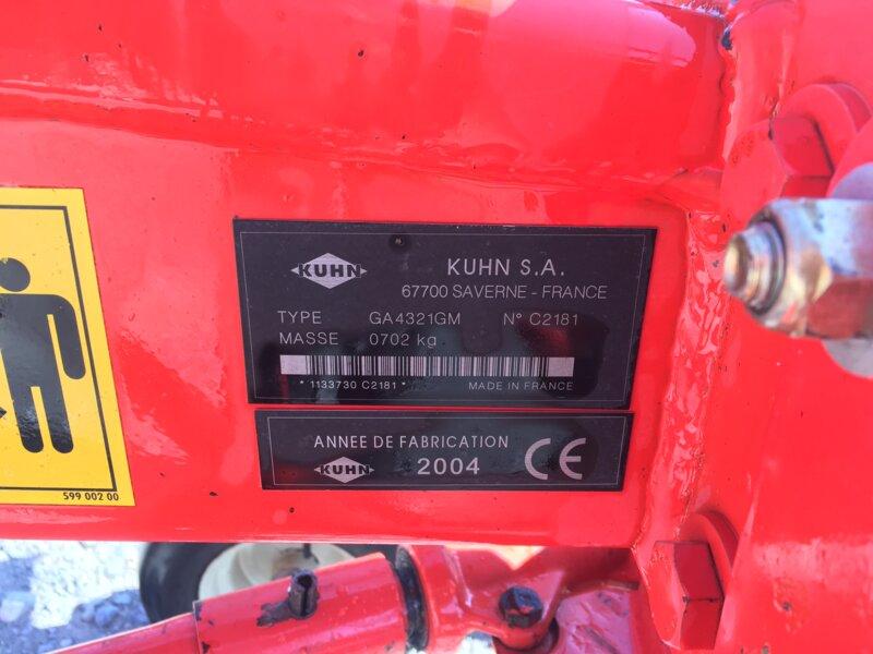 Andaineur KUHN GA4321 GM Masterdrive