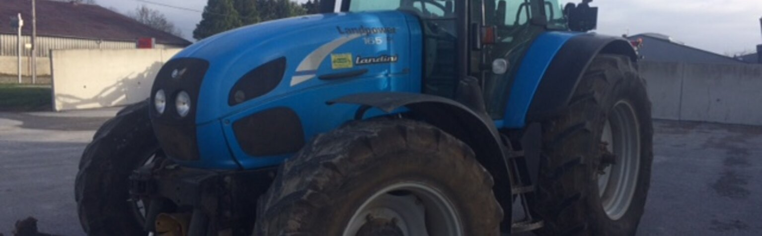 Tracteur Landini Land Power 165 TDI