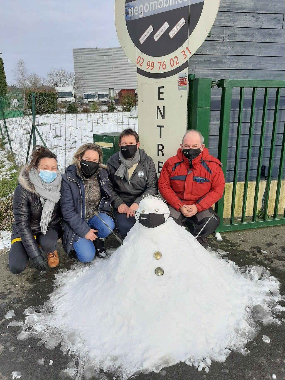 Bonhomme de neige - Fév.2021