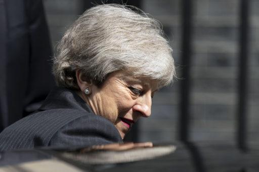 Brits premier Theresa May