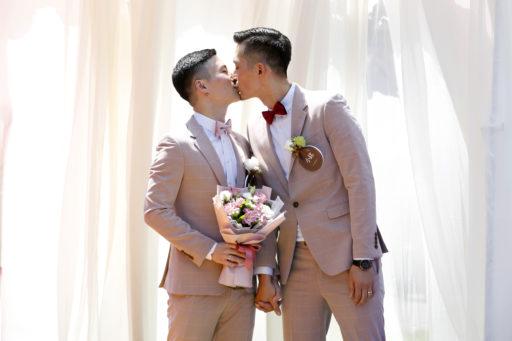 Taiwan viert de eerste homohuwelijken, maar er is nog werk