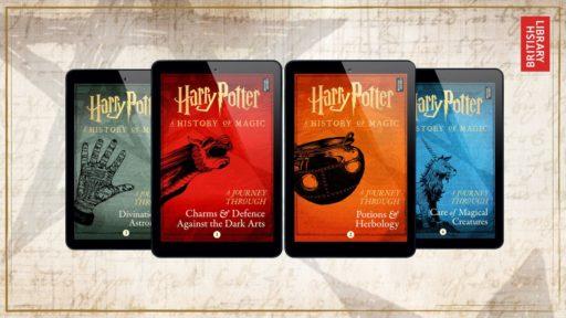 Harry Potter e-books A Journey Through