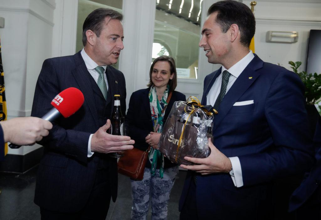 Bart De Wever en Tom Van Grieken