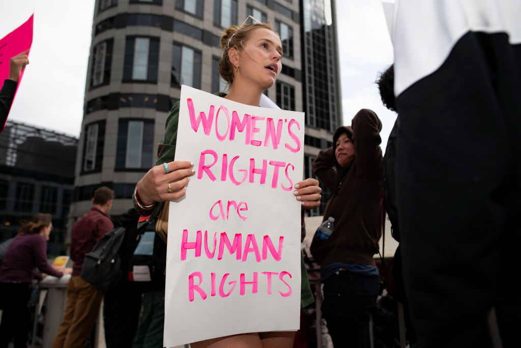 gendergelijkheid protest