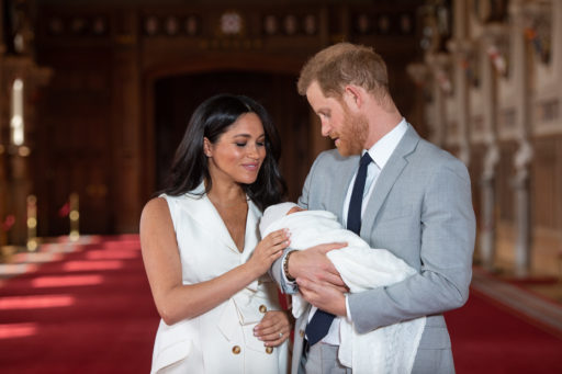 Prins Harry, Meghan Markle, Royal Baby Archie