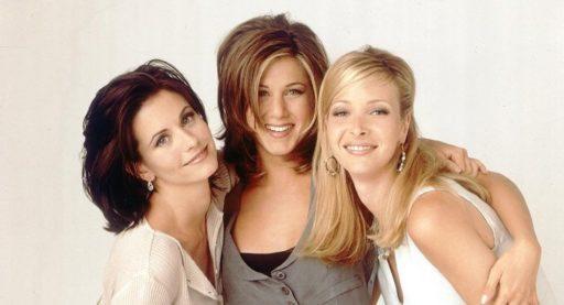 'Friends'-actrices houden een kleine reünie voor de 55ste verjaardag van Courteney 'Monica' Cox