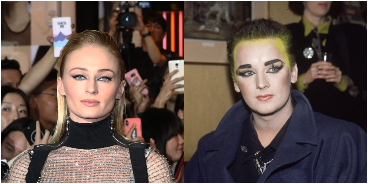 Sophie Turner Boy George