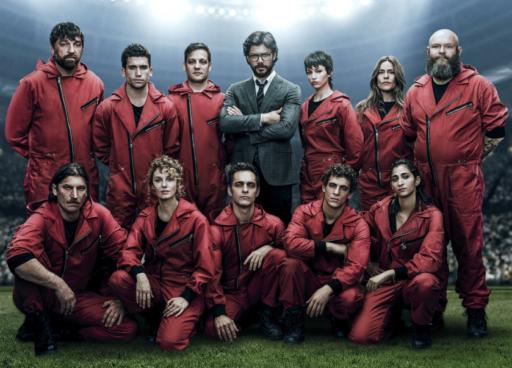 'La Casa de Papel' voegt 5 nieuwe leden toe aan de bende van de rode overall