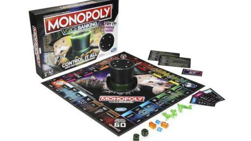 Monopoly pakt uit met een spraakgestuurde editie