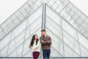 Louvre photo session in Paris.
