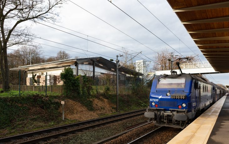 Les travaux Eole dans ma gare des Clairières de Verneuil