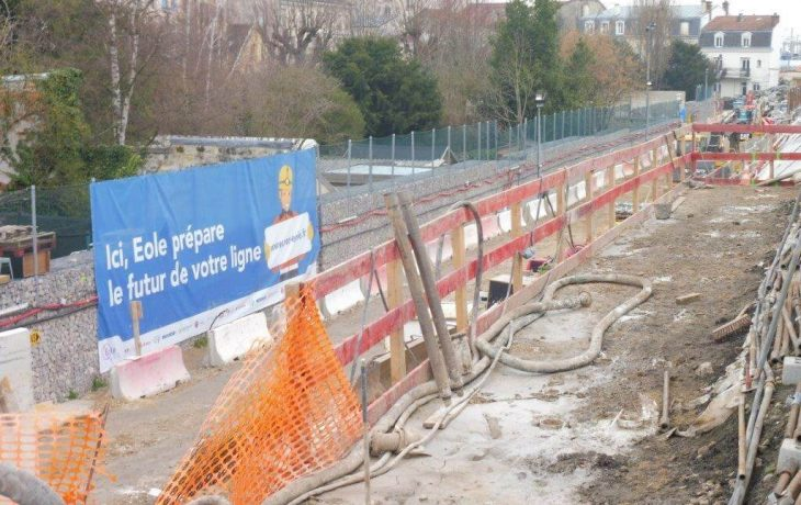 Les travaux d'infrastructures pour l'arrivée de la future ligneE ont commencé