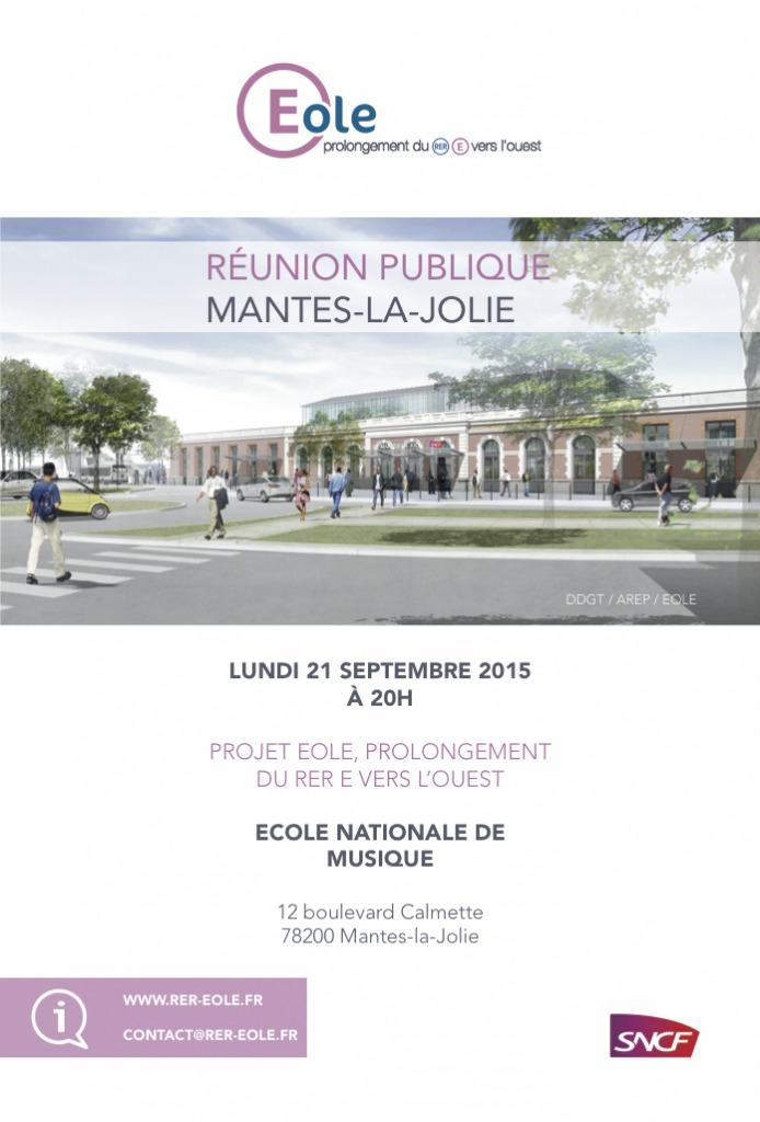 Réunion publique à Mantes-la-Jolie, lundi 21 septembre 2015 à 20h, à l'École Nationale de Musique, 12 boulevard Calmette, 78200 Mantes-la-Jolie