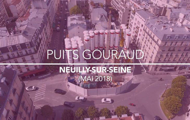 Neuilly-sur-Seine: construction d'un puits dans un tout petit espace