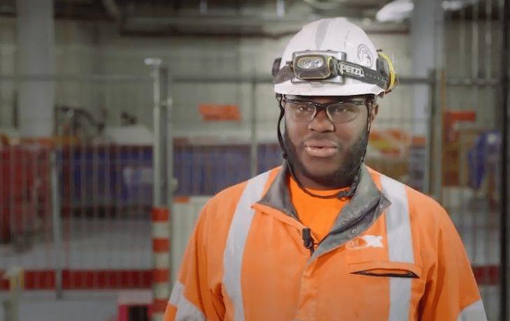 Eole s'engage pour l'insertion professionnelle: Joël, ouvrier polyvalent sur le chantier du CNIT-LaDéfense