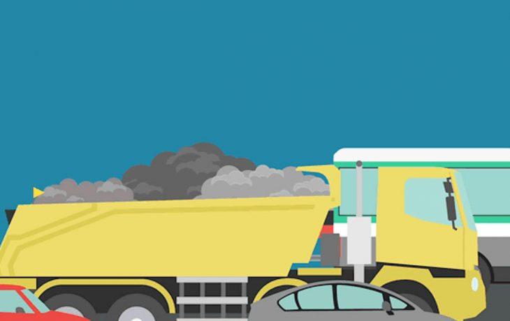 Des milliers de tonnes de matériaux à déplacer sans créer d'embouteillages…