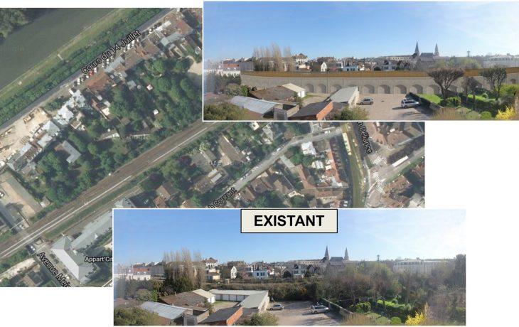 Planning prévisionnel des prochains mois autour des travaux concernant le pont-rail