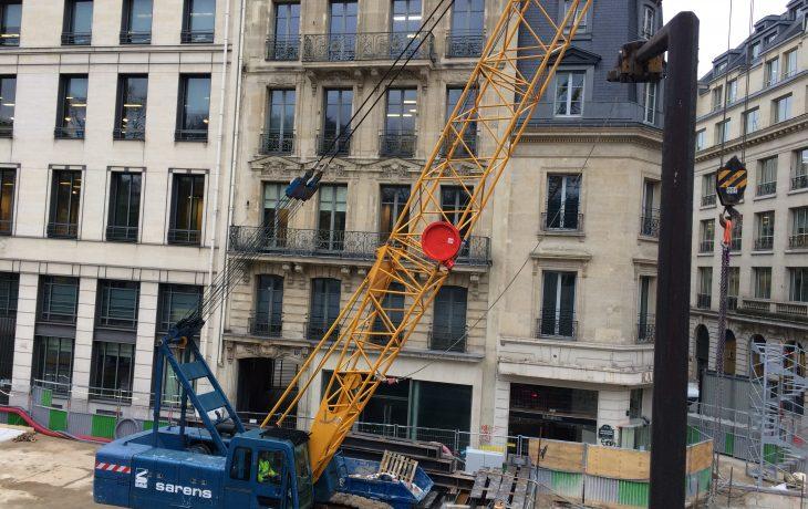 Présentation des travaux du puits Pasquier aux entreprises – 96 boulevard Haussmann