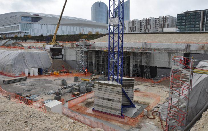 L'actu chantier à Nanterre en février2018