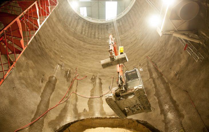 L'actu chantier du secteur tunnel en février 2018