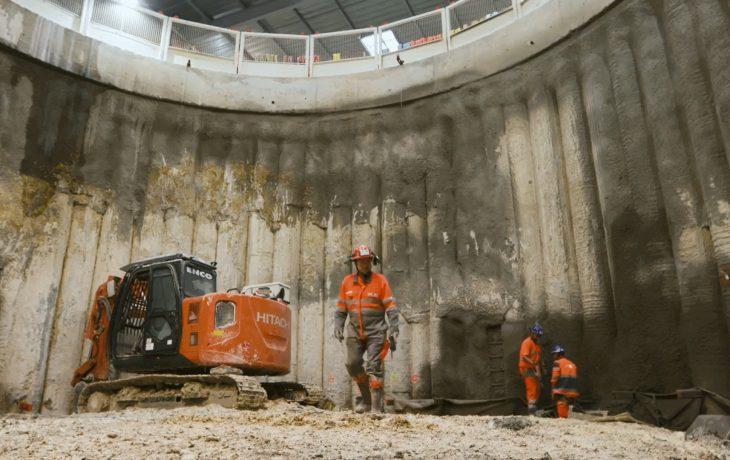 Interview Xavier Gruz, Directeur du projet Eole, sur les chantiers de LaDéfense et Courbevoie