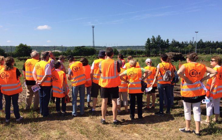 Retour en images de la visite de chantier avec les riverains d'Issou
