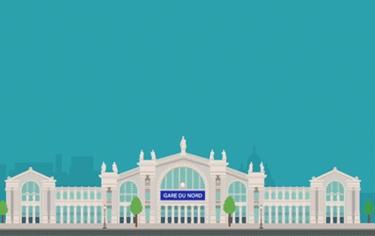 Gare du Nord – La Défense en 10minutes…